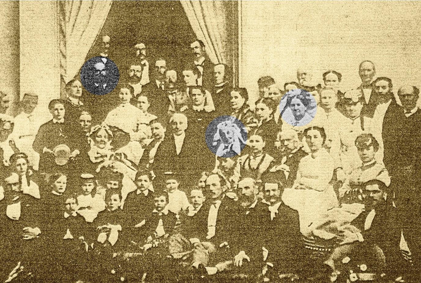 Phélan family around 1860