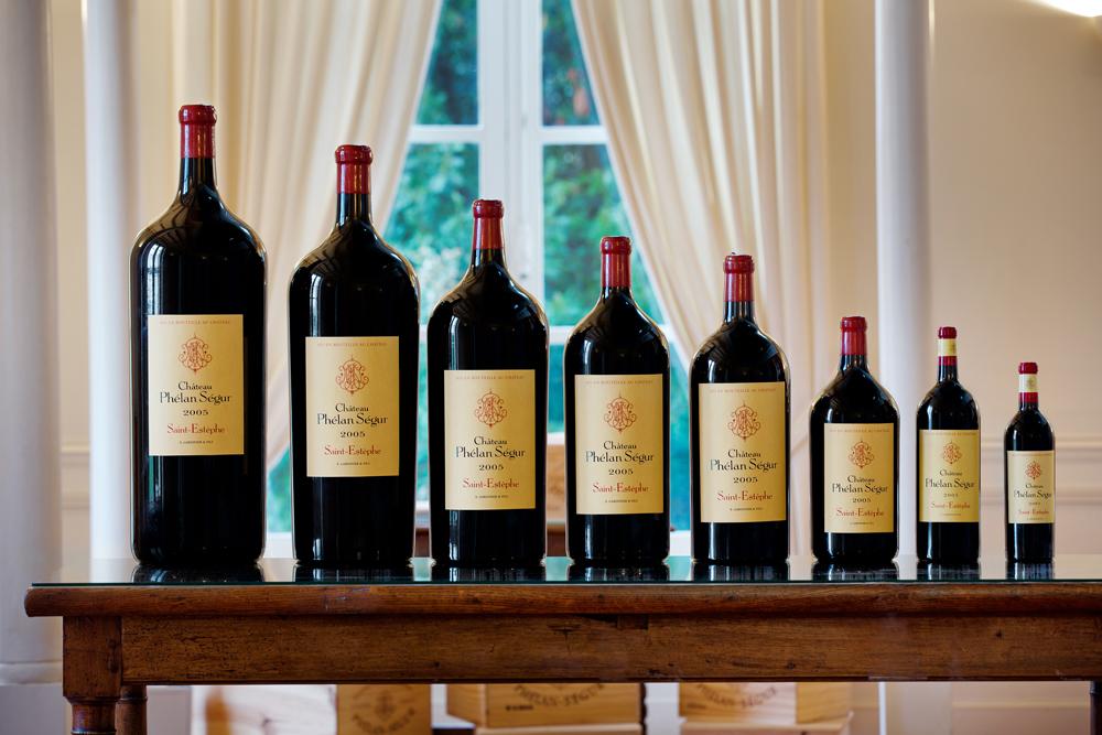 Phélan Ségur's wines