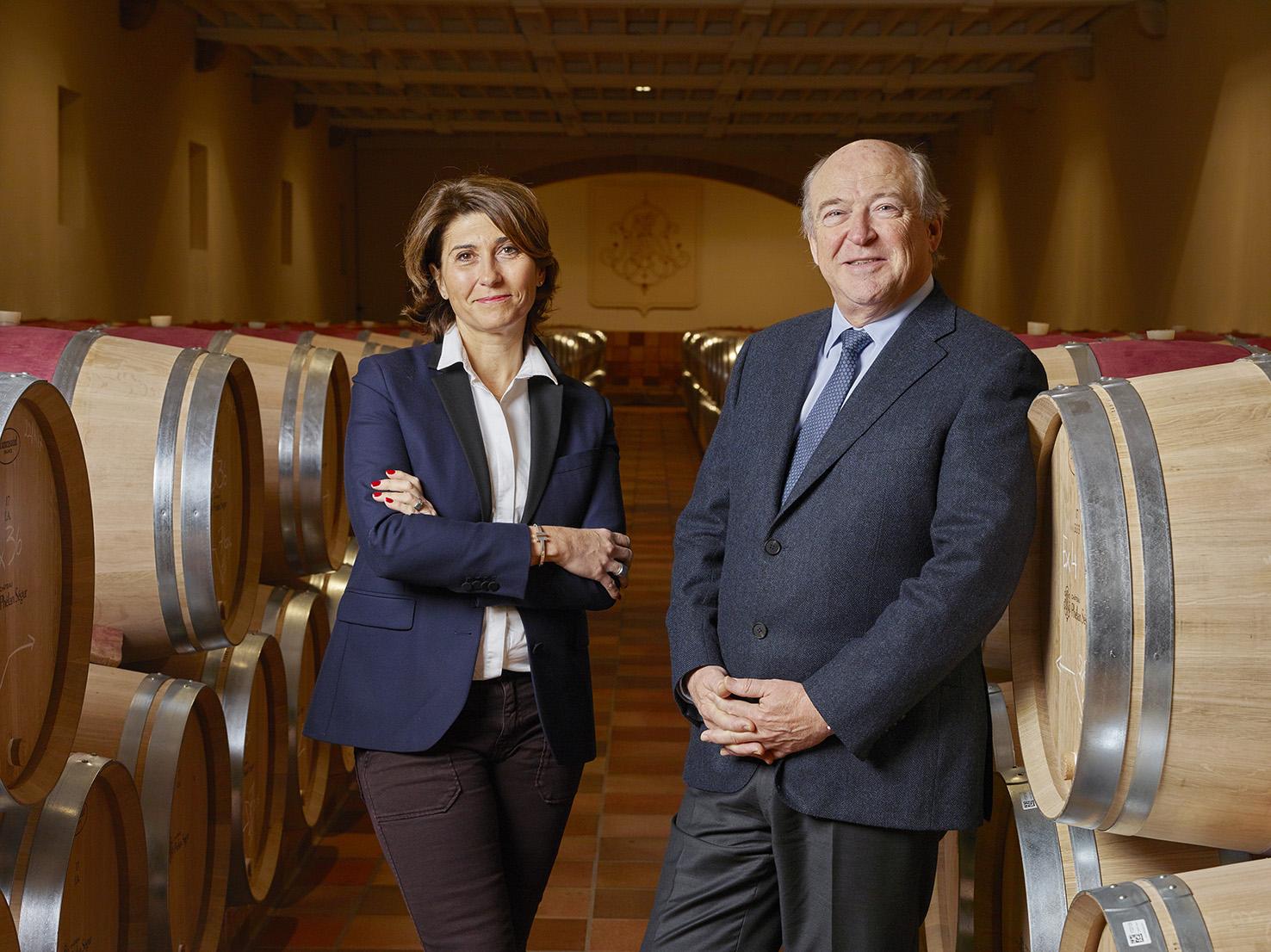 Château Phélan Ségur - Véronique Dausse & Philippe Van de Vyvere